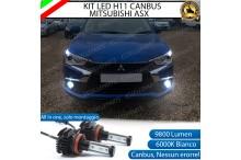 Kit Full LED H11 coppia lampade FENDINEBBIA MITSUBISHI ASX