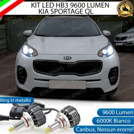 Kit Full LED coppia HB3 9600 LUMEN Anabbaglianti/Abbaglianti KIA SPORTAGE 4