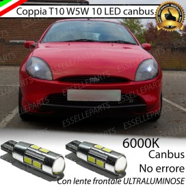 Luci posizione T10 W5W 10 LED Canbus Ford Puma