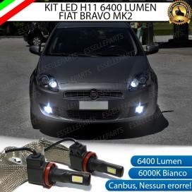KitFull LEDFendinebbia H11 6400 LUMEN FIATBRAVO II
