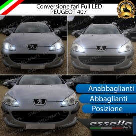 Conversione Fari Full LED 9600LM + 6400LM + 330LM