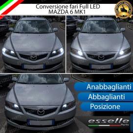 Conversione Fari Full LED 9600LM + 6400LM + 330LM
