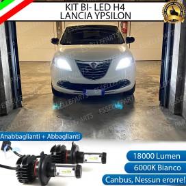 Kit Full LED H4 18000 LUMEN Anabbaglianti/Abbaglianti LANCIA YPSILON II