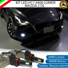 Kit Full LED H11 Fendinebbia 6400 LUMEN Mazda 2 III
