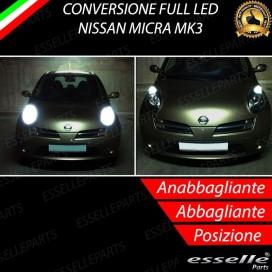 Conversione Fari Full LED 8000LM + 330LM
