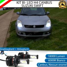 Kit Full LED H4 18000 LUMEN Anabbaglianti/Abbaglianti SUZUKI SWIFT III