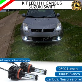 Kit Full LED H11 Fendinebbia 9800 LUMEN Suzuki Swift III