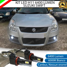 Kit Full LED Fendinebbia H11 6400 LUMEN SUZUKI SWIFT III