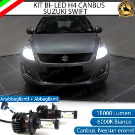 Kit Full LED H4 18000 LUMEN Anabbaglianti/Abbaglianti SUZUKI SWIFT IV