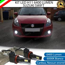 KitFull LEDFendinebbia H11 6400 LUMENSUZUKISWIFT IV