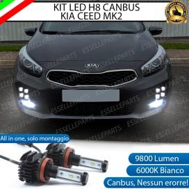 Kit Full LED H8 coppia lampade FENDINEBBIA KIA CEED/PROCEED II