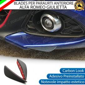 Blade per Paraurti Adesivi Effetto Carbonio specifici per Alfa Romeo Giulietta