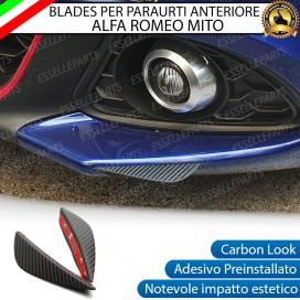 Blade per Paraurti Adesivi Effetto Carbonio specifici per Alfa Romeo Mito