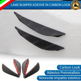 Blade per Paraurti Adesivi Effetto Carbonio