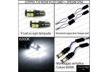 Luci targa 9 LED Canbus RENEGADE