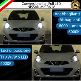 Conversione Fari Full LED 18000LM + 330LM