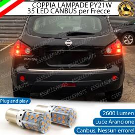 Coppia Frecce Posteriori PY21W 35 LED Canbus Nissan Qashqai I