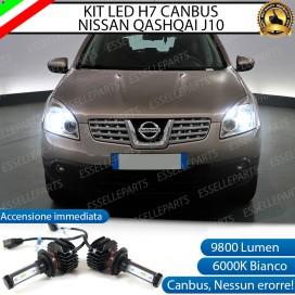Kit Full LED H7 9800 LUMEN Anabbaglianti NISSAN QASHQAI J10