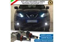 Kit Full LED H8 Fendinebbia NISSAN QASHQAI II
