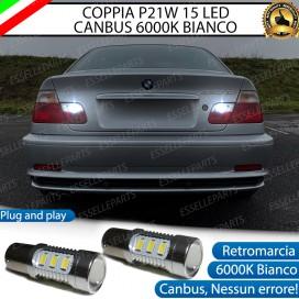 Luci Retromarcia 15 LED BMW Serie 3 (E46) CON LENTE FRONTALE