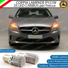 Coppia Frecce Anteriori PY21W 35 LED Canbus Mercedes Classe A (W176)