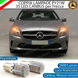 Coppia Frecce Anteriori PY21W 35 LED Canbus MERCEDES CLA W117