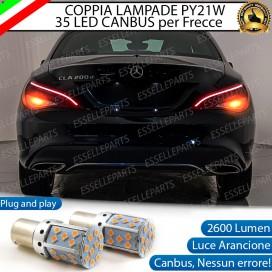 Coppia Frecce Posteriori PY21W 35 LED Canbus Mercedes CLA (W117)