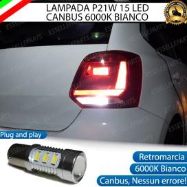 Luce Retromarcia 15 LED Volkswagen Polo (6R 6C1) CON LENTE FRONTALE