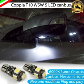 Luci antipozzanghera specchietti LED 6000K Bianco