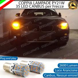 Coppia Frecce Anteriori PY21W 35 LED Canbus BMW SERIE 1 F20