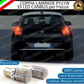 Coppia Frecce Posteriori PY21W 35 LED Canbus BMW SERIE 1 F20 F21