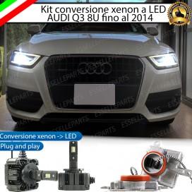 - MODELLI FINO AL 2014 - Kit LED D3S conversione da Bixeno a LED 12000 lumen 6000K AUDI Q3 8U