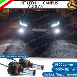 KitFull LEDFendinebbia H11 9800 LUMEN perAUDIA5 8T PRE-RESTYLING