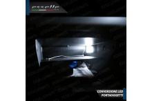 Led interni + Targa canbus 6000k