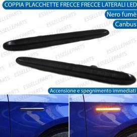 Placchette STATICHE Nero fumè Laterali a 48 led per frecce specifiche per Alfa Romeo Giulietta