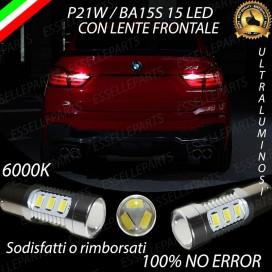 Luci Retromarcia 15 LED BMW X4 (F26) CON LENTE FRONTALE
