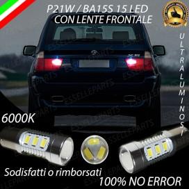 Luci Retromarcia 15 LED BMW X5 (E53) CON LENTE FRONTALE