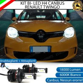 Kit Full LED H4 18000 LUMEN Anabbaglianti/Abbaglianti RENAULT TWINGO III