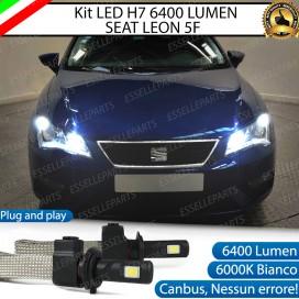KitFull LED H7 6400 LUMEN AbbagliantiSEATLEON 5F