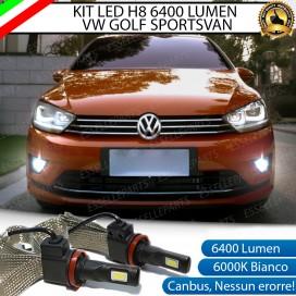 Kit Full LED H11 Fendinebbia 6400 LUMEN Volkswagen Sportsvan