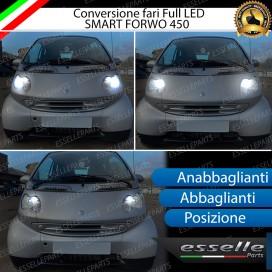 Conversione Fari Full LED 9800lm + 6400lm + 330lm
