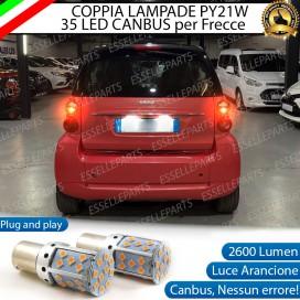 Coppia Frecce Posteriori PY21W 35 LED Canbus SMART Fortwo II