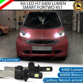 KitFull LED H7 6400 LUMEN AbbagliantiSMARTFORTWO II