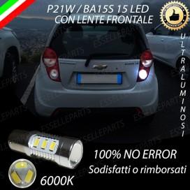 Luce Retromarcia 15 LED Chevrolet Spark CON LENTE FRONTALE