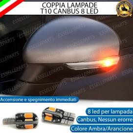 Coppia Lampade T10 W5W 8 LED per Frecce Laterali Fiat 500X