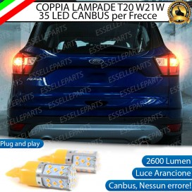 Coppia Frecce Posteriori WY21W 35 LED Canbus FORD KUGA II RESTYLING