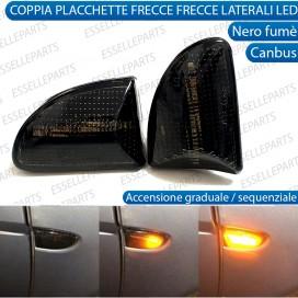 Placchette Dinamiche Laterali Nere a led per frecce specifiche SMART FORTWO 451