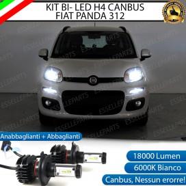 Kit Full LED H4 18000 LUMEN Anabbaglianti/Abbaglianti FIAT PANDA III