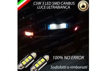 Luci targa 3 LED Canbus AUDI A2