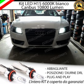 Luci Diurne/Abbaglianti H15 LED